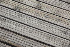 Feche acima do molhe de madeira placa de madeira para a caminhada Imagens de Stock Royalty Free