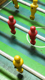 Feche acima do número um jogo de futebol do tampo da mesa Fotos de Stock