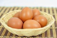 Feche acima do ovo Imagens de Stock Royalty Free