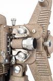 Feche acima do projetor de filme de 8mm Imagem de Stock