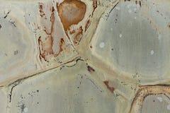 Feche acima do quartzito cinzento formado Foto de Stock