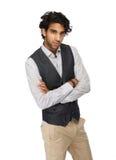 Feche acima do retrato de um homem de negócio ocasional Imagem de Stock Royalty Free