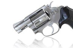 Feche acima do revólver Imagem de Stock