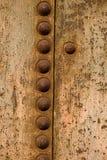 Feche acima do tanque oxidado do metal fotografia de stock royalty free