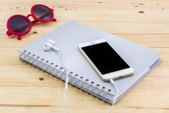 Feche acima do telefone celular, telefone esperto Foto de Stock Royalty Free