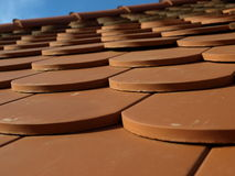 Feche acima do telhado Imagens de Stock Royalty Free