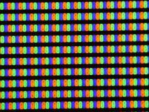 Feche acima do tiro da tela da tevê do plasma, tevê do relógio filme