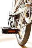Feche acima do tiro das peças da bicicleta imagens de stock