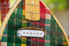 Feche acima do vina, instrumentos amarrados Foto de Stock