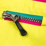 Feche acima do zipper Imagens de Stock