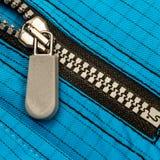 Feche acima do zipper Fotografia de Stock
