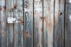 Feche acima dos painéis de madeira da cerca, muito lugar para o texto Imagens de Stock