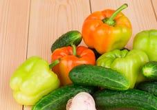 Feche acima dos vegetais Imagens de Stock