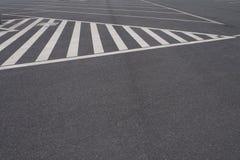 Feche acima no estacionamento do carro, nenhum estacionamento cantam Fotografia de Stock
