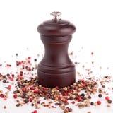 Moinho de pimenta Foto de Stock Royalty Free