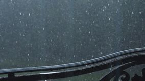 Feche a chuva forte filme