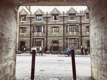 feche em Cambridge Imagens de Stock Royalty Free