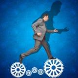 Fechten Sie Konzept an Eingehen von Risiken Stockfotos
