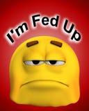 Fed вверх   Стоковые Фото