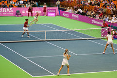 FED Cup Serbia-Canada royalty free stock photos