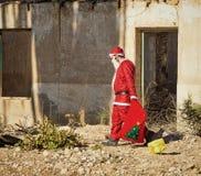 FED encima de Papá Noel Imagen de archivo libre de regalías