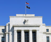 FED. Headquarter of the Federal Reserve in Washington, DC, USA,FED Royalty Free Stock Image