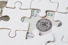 FED-Strategie der Zinssatzwanderung, der Vereinigten Staaten von Amerika, die finanziell sind oder des Wirtschaftskonzeptes, Laub stockbilder