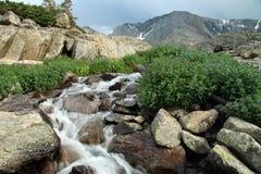 Is- Fed vattenfall Royaltyfri Fotografi