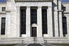 Fed View Three. One view of the headquarters of the Federal Reserve in Washington, D.C Royalty Free Stock Photography