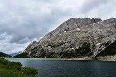 Fedaia Dam Italy Royalty Free Stock Photos