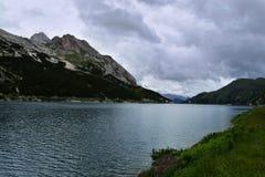 Fedaia Dam Italy Stock Photos