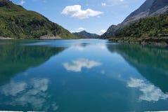 fedaia jezioro Fotografia Stock