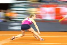 FedCup网球比赛乌克兰对加拿大 库存图片