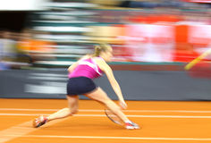 FedCup tennis game Ukraine vs Canada Stock Image