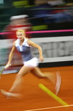 FedCup tennis game Ukraine vs Canada Stock Photo