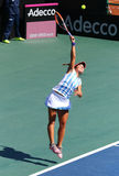 FedCup tennis match Ukraine vs Argentina Royalty Free Stock Photography