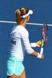 FedCup tennis match Ukraine vs Argentina Royalty Free Stock Image