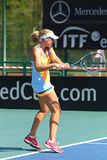 FedCup tennis match Ukraine vs Argentina Royalty Free Stock Photos