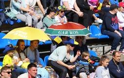 FedCup tennis match Ukraine vs Argentina Stock Photography