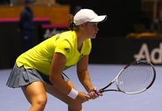 FedCup tennis: Ukraine v Australia in Kharkiv, Ukraine Royalty Free Stock Photo