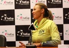 FedCup tennis: Ukraine v Australia in Kharkiv, Ukraine Stock Photography