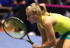FedCup tennis: Ukraine v Australia in Kharkiv, Ukraine Royalty Free Stock Photography