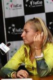 FedCup tennis: Ukraine v Australia in Kharkiv, Ukraine Stock Photo
