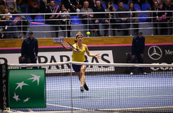 FedCup tennis: Ukraine v Australia in Kharkiv, Ukraine Stock Photo