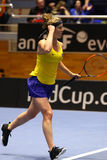 FedCup tennis: Ukraine v Australia in Kharkiv, Ukraine Stock Image