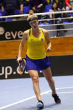FedCup tennis: Ukraine v Australia in Kharkiv, Ukraine Stock Photography