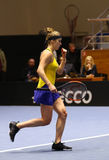 FedCup tennis: Ukraine v Australia in Kharkiv, Ukraine Royalty Free Stock Images