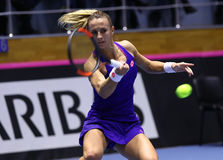 FedCup tennis: Ukraine v Australia in Kharkiv, Ukraine Stock Images