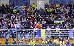 FedCup tennis: Ukraine v Australia in Kharkiv, Ukraine Royalty Free Stock Photos
