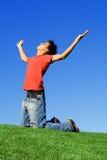 Fede, successo, gioventù Fotografia Stock Libera da Diritti